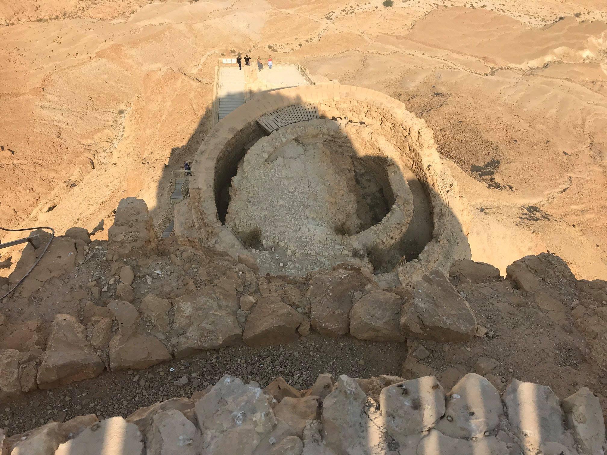 5herodian palace masada