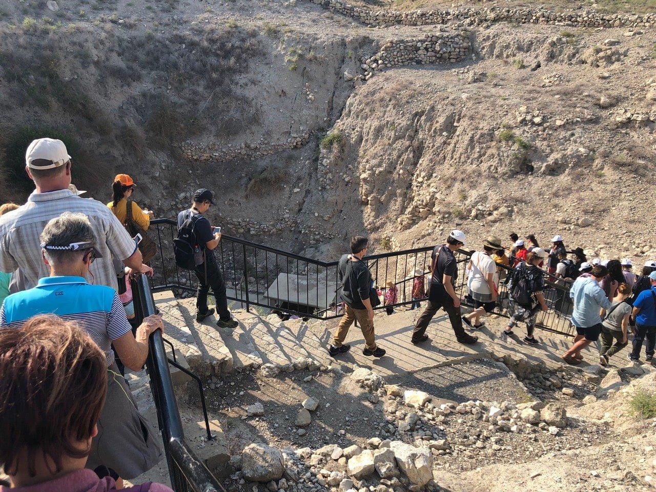 entering the megiddo tunnel-min