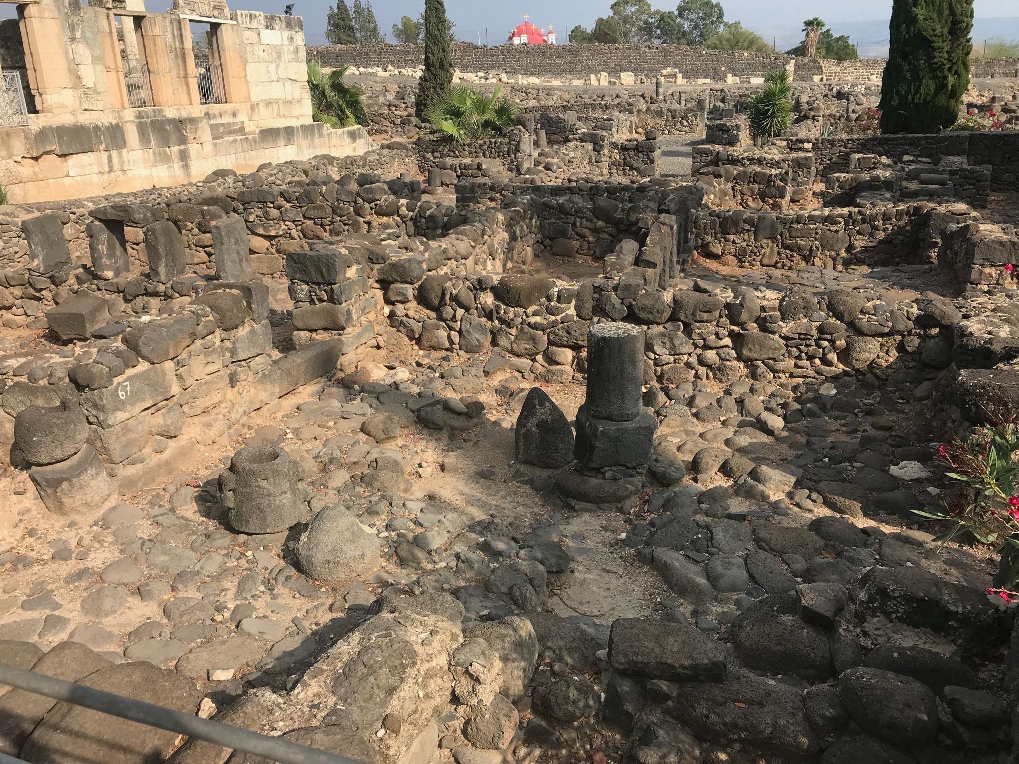 pristine capernaum ruins