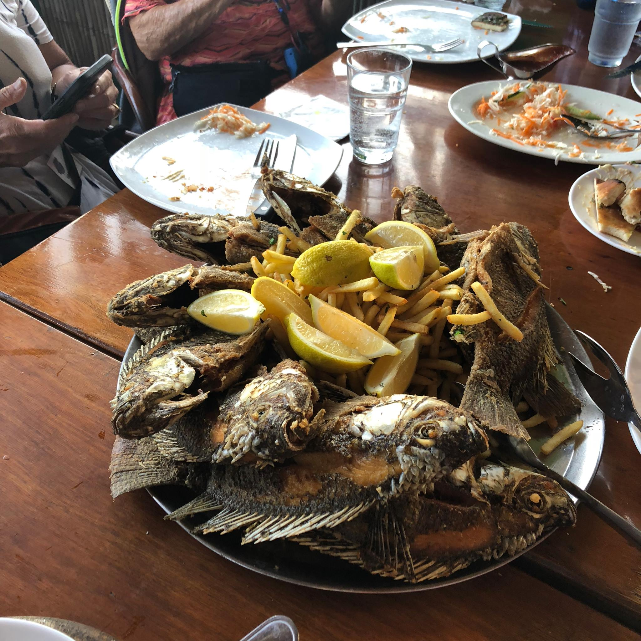 sea of galilee fish lunch-min
