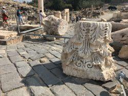 Decorative Capitals At Beth Shean